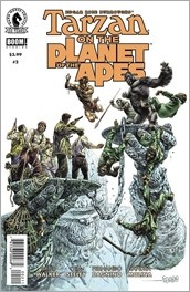 Tarzan on the Planet of the Apes #2 Cover - Fegredo