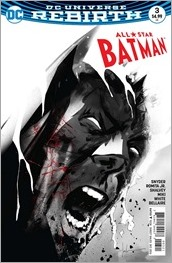 All Star Batman #3 Cover - Jock Variant