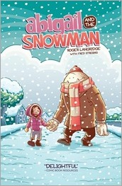 Abigail and the Snowman TPB Cover