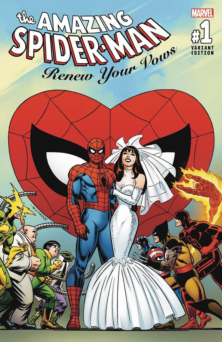 First Look At Amazing Spider Man Renew Your Vows 1