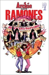 Archie Meets Ramones #1 Cover - Fish Variant