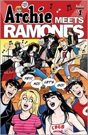 Archie Meets Ramones #1 Cover - Lagace