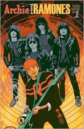 Archie Meets Ramones #1 Cover - Francavilla Variant