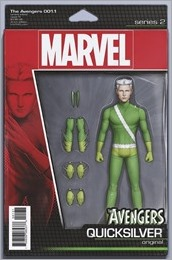 Avengers #1.1 Cover - Action Figure Variant