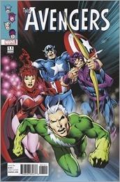 Avengers #1.1 Cover - Davis Variant