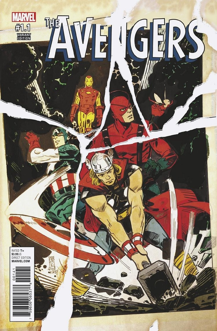 The Avengers: First Look: Avengers #1.1 By Waid & Kitson (Marvel
