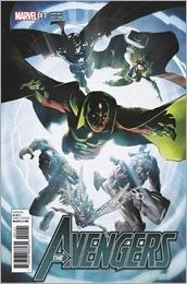 Avengers #1 Cover - Kubert Variant