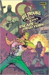Big Trouble in Little China/Escape from New York #1 Cover A