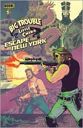 Big Trouble in Little China/Escape from New York #1 Cover B