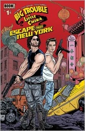Big Trouble in Little China/Escape from New York #1 Cover C - Allred