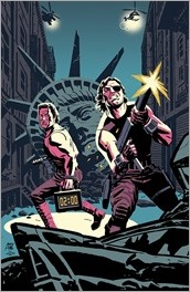 Big Trouble in Little China/Escape from New York #1 Cover D - East