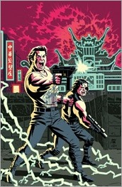 Big Trouble in Little China/Escape from New York #1 Cover E - West