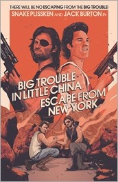 Big Trouble in Little China/Escape from New York #1 Cover - Barrett Variant