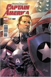 Captain America: Steve Rogers #7 Cover - Anacleto Variant