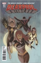 Deadpool #21 Cover - Noto Champions Variant