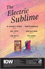The Electric Sublime #1 Preview 1