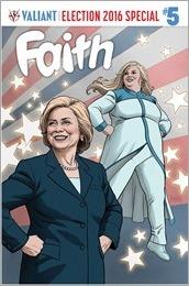 Faith #5 Cover A - Rivera