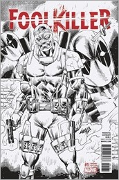 Foolkiller #1 Cover - Liefeld Sketch Variant