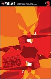 Generation Zero #3 Cover B - Muller