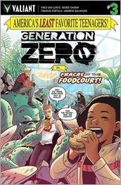 Generation Zero #3 Cover - Charm Variant