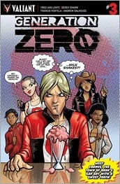 Generation Zero #3 Cover - Parent Variant