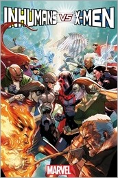 Inhumans vs. X-Men #1 Cover