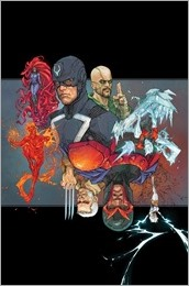 Inhumans vs. X-Men #1 Cover - Rocafort Variant