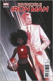Invincible Iron Man #1 Cover - Dekal Variant