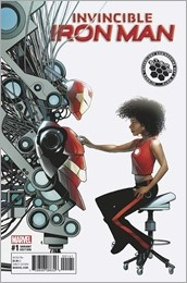 Invincible Iron Man #1 Cover - McKone STEAM Variant