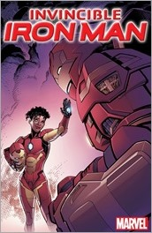 Invincible Iron Man #1 Cover - Raney Divided We Stand Variant