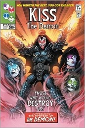 KISS: The Demon #1 Cover B - Mandrake