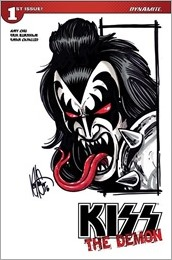 KISS: The Demon #1 Cover J - Haeser Sketch Variant