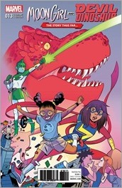 Moon Girl and Devil Dinosaur #13 Cover - Bustos Variant