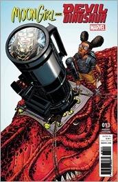 Moon Girl and Devil Dinosaur #13 Cover - Chin Variant