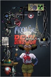 Moon Girl and Devil Dinosaur #13 Cover - Reeder