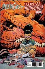 Moon Girl and Devil Dinosaur #13 Cover - Greene Variant