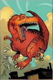Moon Girl and Devil Dinosaur #13 Cover - Stroman Variant