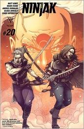 Ninjak #20 Cover C - Laming
