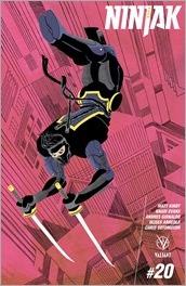 Ninjak #20 Cover - Fiffe Variant