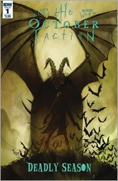The October Faction: Deadly Season #1 Cover