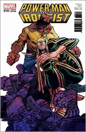 Power Man and Iron Fist #10 Cover - Canete Variant