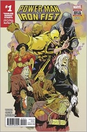 Power Man and Iron Fist #10 Cover