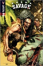 Savage #2 Cover - LaRosa