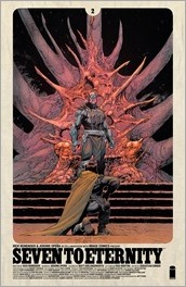 Seven to Eternity #2 Cover