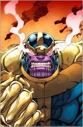 Thanos #1 Cover - Lim Variant