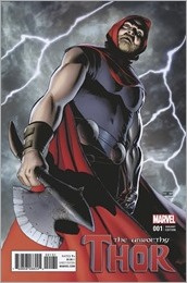 The Unworthy Thor #1 Cover - Cassaday Variant