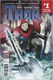 The Unworthy Thor #1 Cover