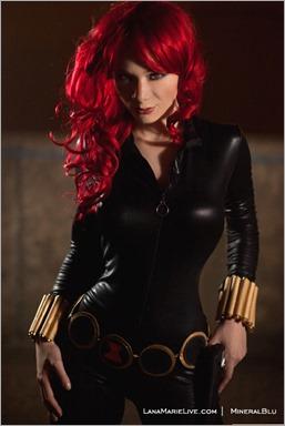 LanaCosplay as Black Widow (Photo by MineralBlu)