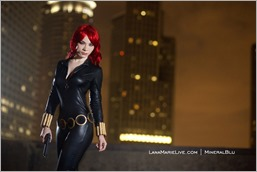 LanaCosplay as Black Widow (Photo by MineralBlu)