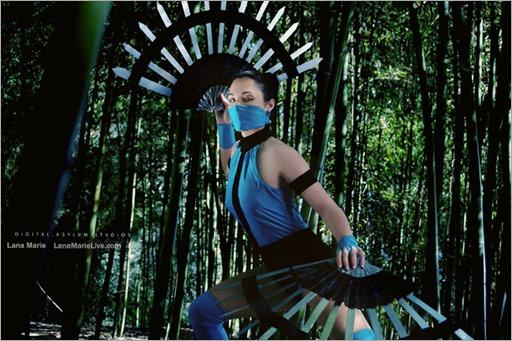 LanaCosplay as Kitana (Photo by Digital Asylum Studios)